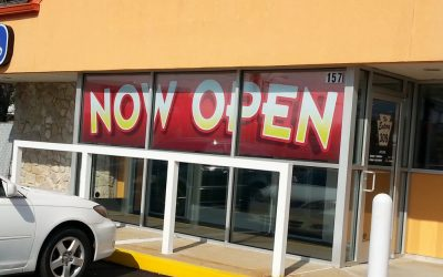 Now Open Banners The Eatery on 309
