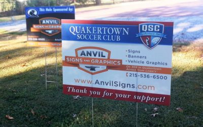 Golf Tournament Sponsor Signs
