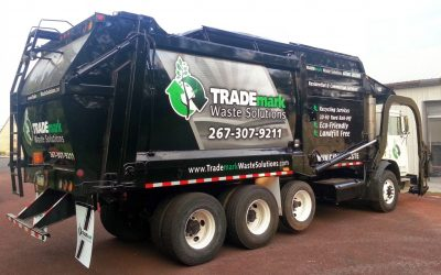Truck Partial Wrap and Lettering for TRADEmark