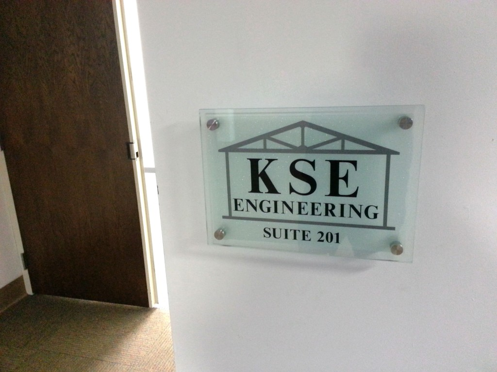 Suite identifier sign