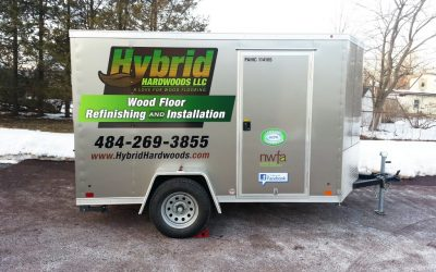 Hybrid Hardwoods Vinyl Trailer Graphics