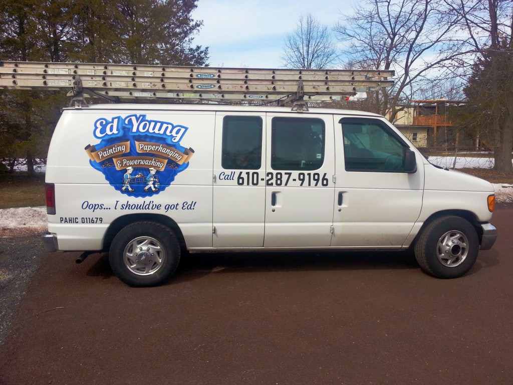 Work van graphics